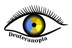 deuteranopia icona